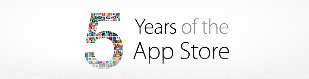 5 years apple app store